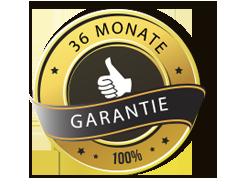 36 Monate Reparatur Garantie