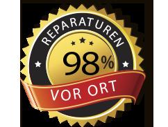 98Prozenten-Reparatur-Garantie