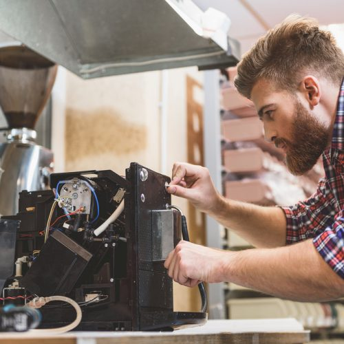 Kaffeemaschinen Reparatur